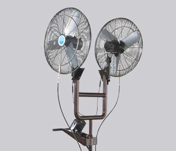Dual Misting Fan